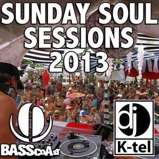 DJ K-Tel Bass Coast Sunday Soul Sessions 2013