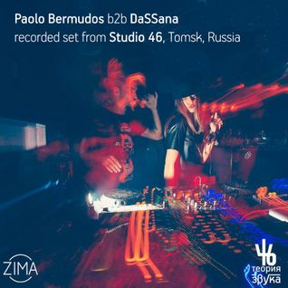Paolo Bermudos & DaSSana - recorded b2b set from Sunvibes tour @ Studio 46, Tomsk
