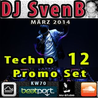 DJ SvenB - Techno Promo Set 12 (2014)