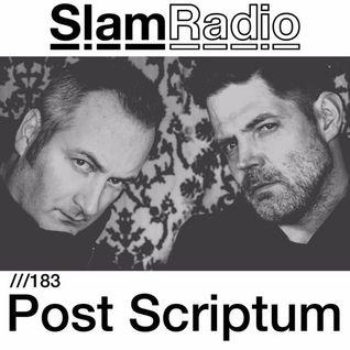 #SlamRadio - 183 - Post Scriptum