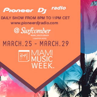 Miami Music Week 2015 from The Surfcomber Hotel Friday March 27th
