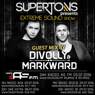 Divolly & Markward exclusive mix for Extreme Sound show #246 with Supertons