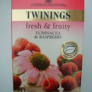 raspberry and echinacea
