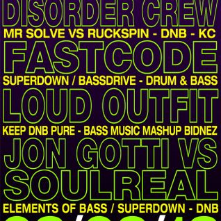 The Loud Outfit - Live @ Bass & Bliss 03/02/2013