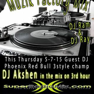 DJ Akshen in the mix on SuperRadioMix.com 05-07-15