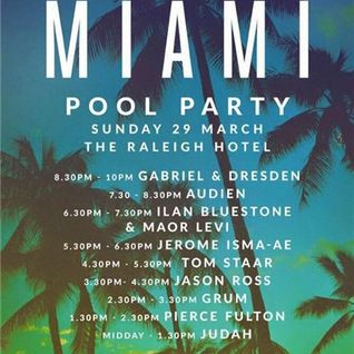 Pierce Fulton - Live @ Anjunabeats Pool Party, Rayleigh Hotel, MMW 2015 - 29.03.2015