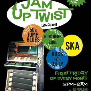 DJ Andy Smith June Jam Up Twist Soul Gang show