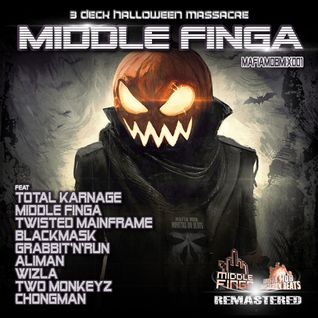 Middle Finga - 3 Deck Halloween Massacre - Mafia MOB | Monstaz On Beats (Remastered)