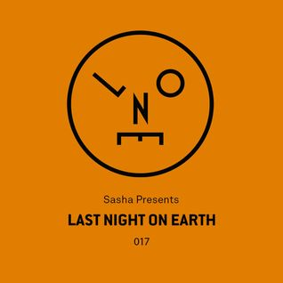 Sasha – Last Night On Earth - 017 (September 2016)