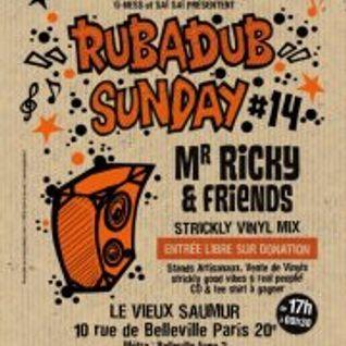 Nega @ RUB A DUB SUNDAY #14 - 24/02/2013