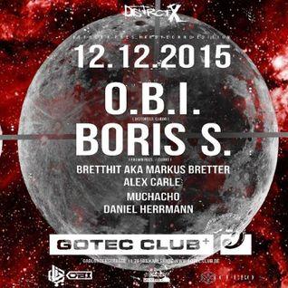 BrettHit aka Markus Bretter at Gotec Club DstrctX HT Edition w/ O.B.I. and Boris S. (Hardtechno)