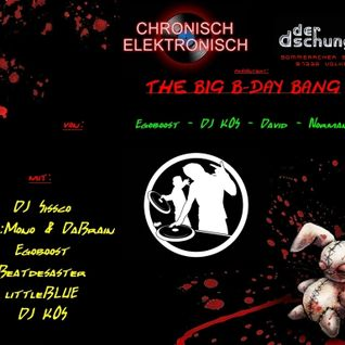Egoboost vs. Beatdesaster @ The Big B-Day Bang