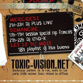 DJ-END.K (s.cru) ON TOXIC UNDER SOUND RADIO  25 05 14