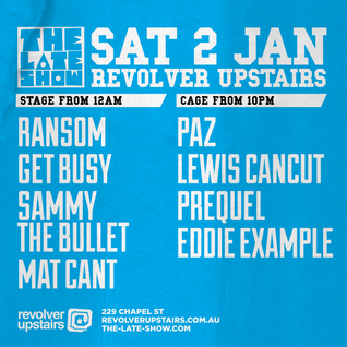 TLS@Revolver Upstairs 2/1/16