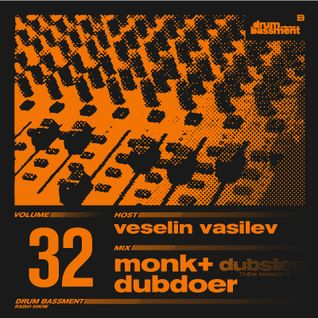 DB032_mixed by MONK & DUBDOER // dubstep in the bassment