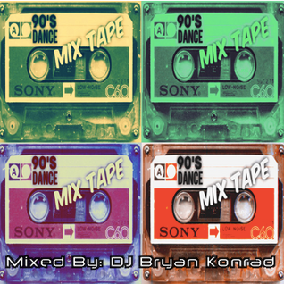 90's Dance Mix Tape (March 2016)