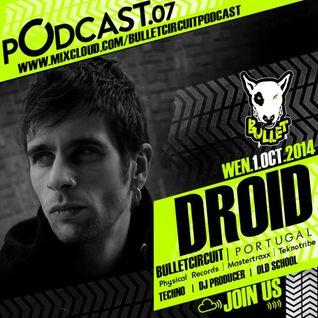 Bulletcast#07@DROID Bulletcircuit Podcast