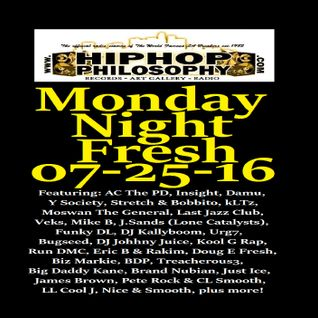 HipHopPhilosophy.com Radio - Monday Night Fresh 07-25-16
