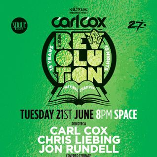 Danny Howells - Live at Music Is Revolution Week 2, Space Ibiza (21-06-2016)