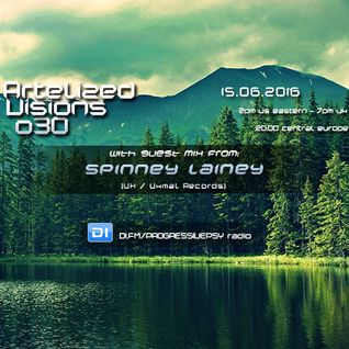 Artelized Visions 030 (June 2016) with guest Spinney Lainey on DI FM