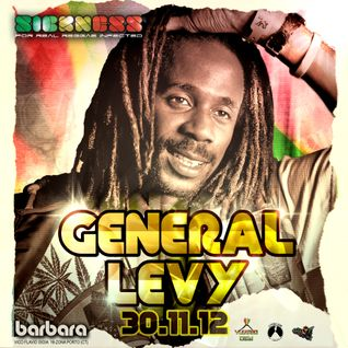 GENERAL LEVY live@SICKNESS | 30/11/2012 | part.2 - DUBSTEP/DRuM'n'BaSS