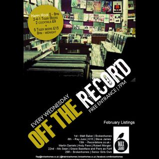 Off The Record - 22nd Feb 2012 - Piers