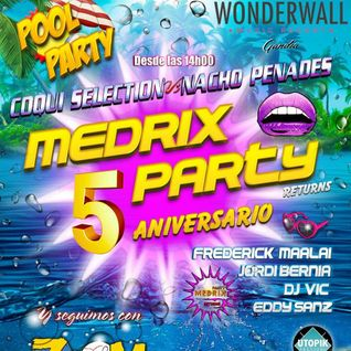 Dj Vic @ Wonderwall 30 Agosto 2014 (Medrix Party)