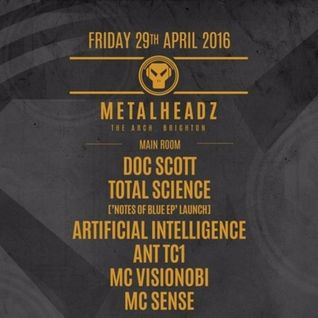 Doc Scott Metalheadz Brighton 29th April Promo Mix