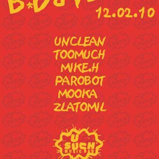 B-dayBash - uSuchMusicBar - Luhacovice (12.02.2010)