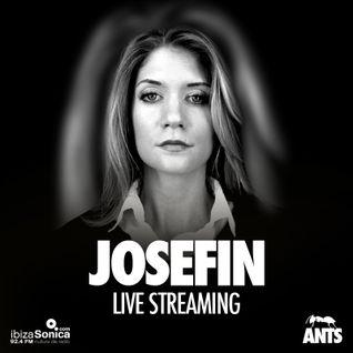 JOSEFINE ROSEN - LIVE AT ANTS - USHUAIA IBIZA - JULY 25th 2015 - IBIZA SONICA