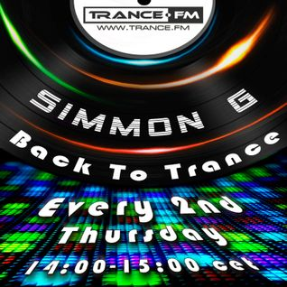 Simmon G - Back To Trance 040