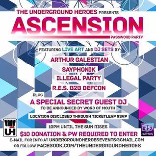 Arthur Galestian - Live At Ascension - Los Angeles - Feb 6, 2015