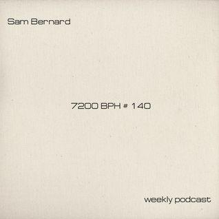 Sam Bernard 7200 BPH # 140