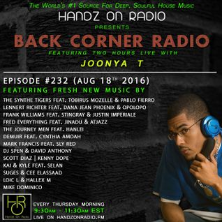 BACK CORNER RADIO: Episode #232 (Aug 18th 2016)