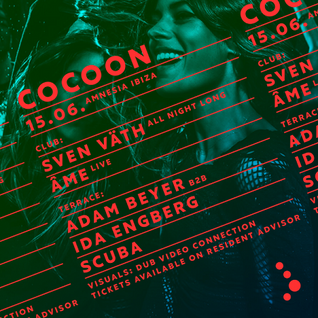Adam Beyer b2b Ida Engberg  - Live At Cocoon, Amnesia, Ibiza (DCR256) - 15-Jun-2015