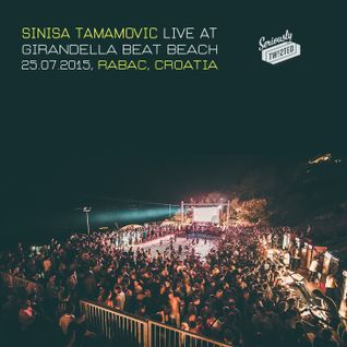 Sinisa Tamamovic - Live at Girandella Beat Beach - Rabac - Croatia - 25-07-2015