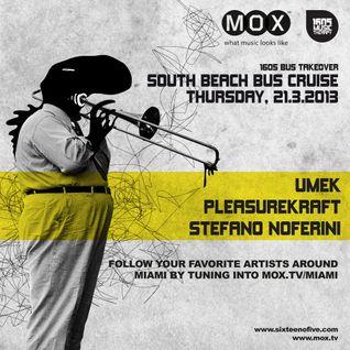 1605 & MOX.TV / Miami Bus Tour Takeover / 20.03.13