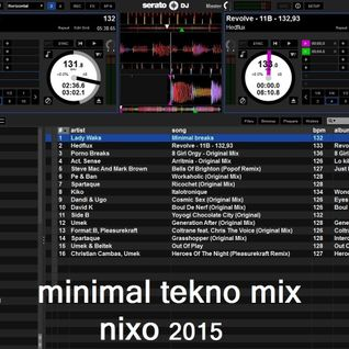 Minimal Tekno mix Nixo 2015