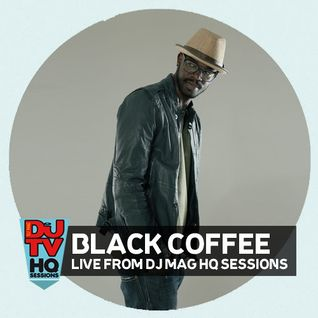 Black Coffee live DJ set from DJ Mag HQ Sessions