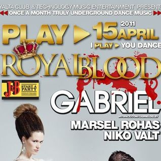 Niko Valt Live @ Play Royal Blood At Yalta Club 15 - APR - 2011