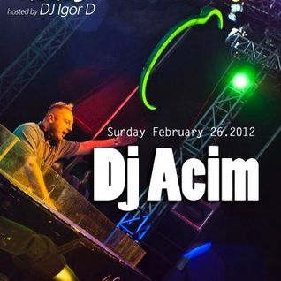 Above The Clouds with DJ Igor D. (episode 10) / Guest mix by DJ Acim