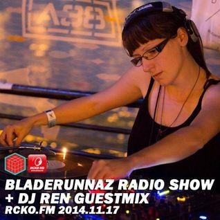 BLZ Radio Show w/ DJ REN + Mentalien @ RCKO.FM 2014.11.17