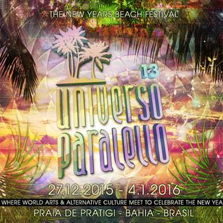 UNIVERSO PARALELLO 2015 - by Angel Mantrix - dj set