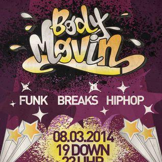 Body Movin Promo Mix März 2014