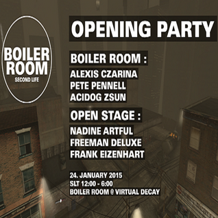 The Dub Experiment @ SL Boiler Room 24th January 2015