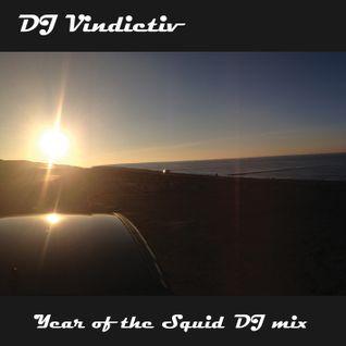 DJ VINDICTIV - THE YEAR OF THE SQUID DJ MIX 2012