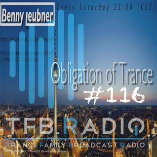 Podcast - Obligation of Trance #116