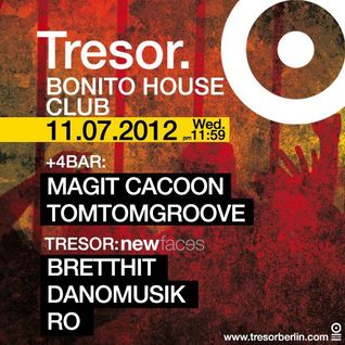 11/07/2012 BrettHit @ New Faces Tresor Club Berlin