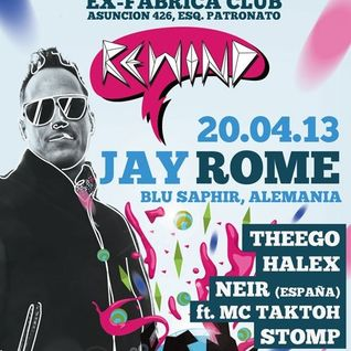 Stomp Live DJ SET @ REWIND Party 20-04-2013