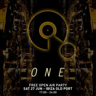 REBOOT B2B MELANIE RIBBE - LIVE at ONE FESTIVAL, JUNE 27th 2015 - OLD PORT OF IBIZA